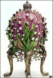A Faberge Easter Egg